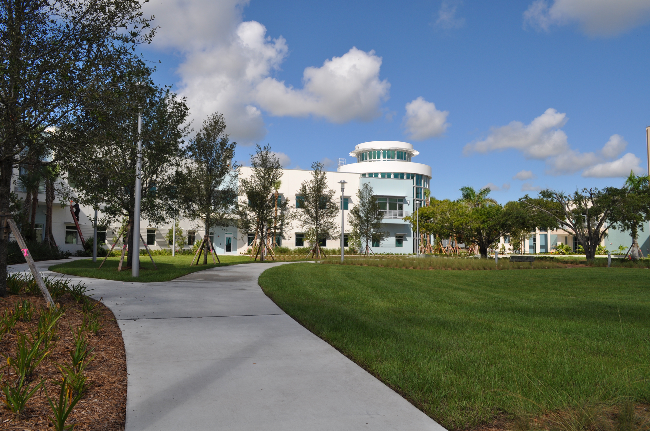 Harbor Branch Oceanographic Institute at FAU Research Laboratory II Open Campus Field.JPG