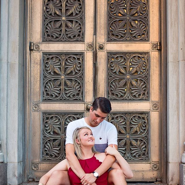 Owen and Madison's Engagement session was so much fun! We strolled around downtown Cincinnati chatting about life and wedding plans and let the city be our backdrop! I couldn't be happier  with how they all turned out. I can't wait for their wedding October 2020!  #engagementsession #engagementphotos #love #ido #goanamedia #cincinnati #bringyourstudiooutdoors #letsplay #nikon #nikond750 #ohioweddingphotographer #midwestphotography #cincinnatiweddings #beautifuldoors