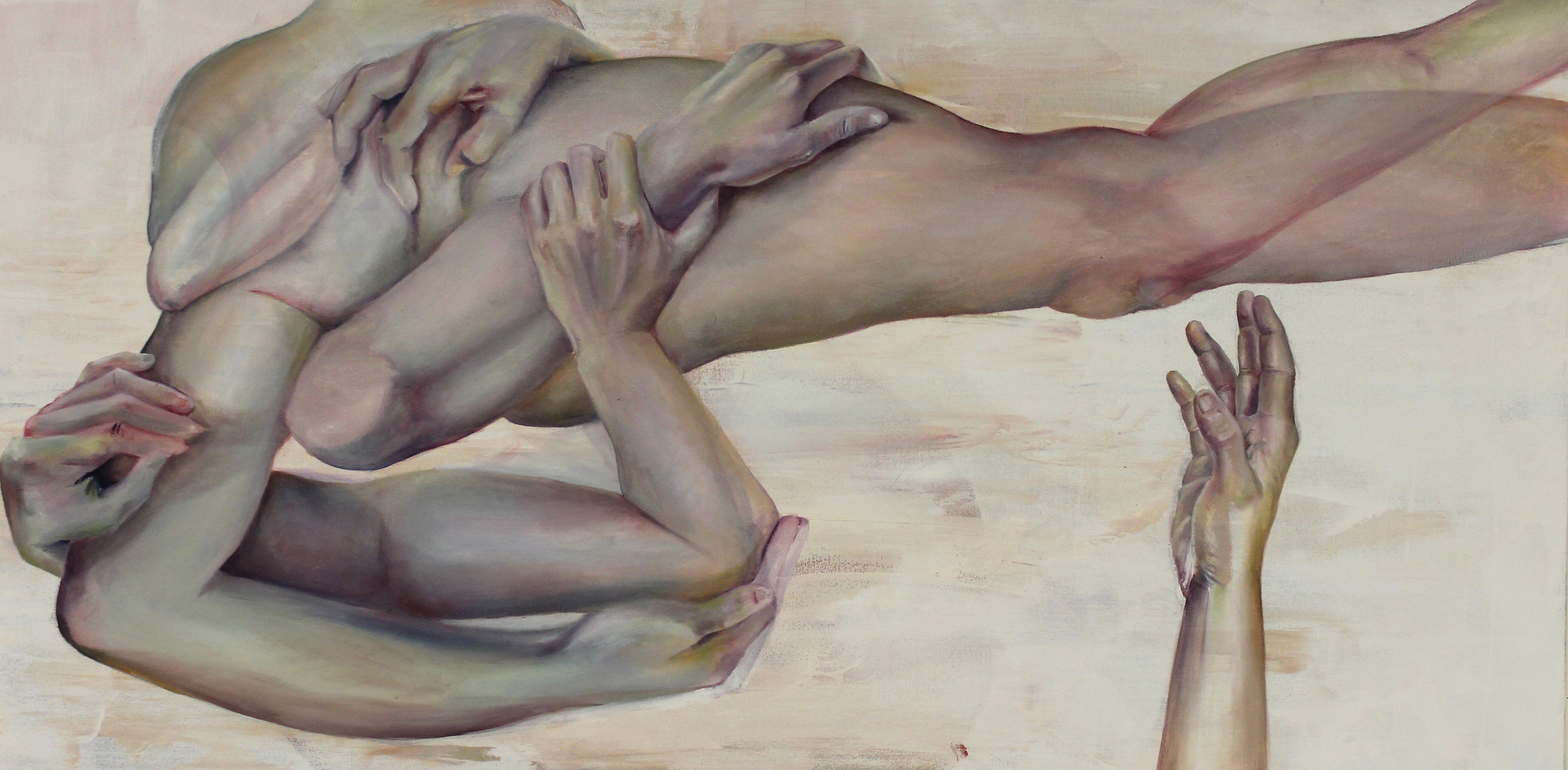 48'' x 24''  oil on canvas  2014