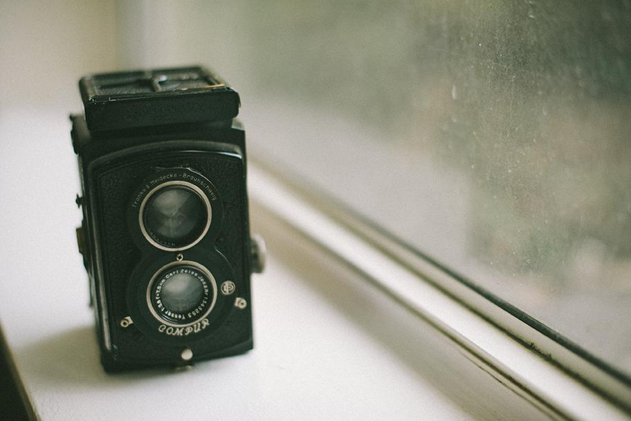 Rolleiflex I inherited from my grandfather.
