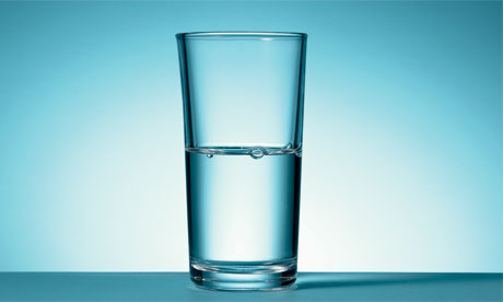 P hotograph: Aaron Tilley for the Guardian   Is this glass half full or half empty?