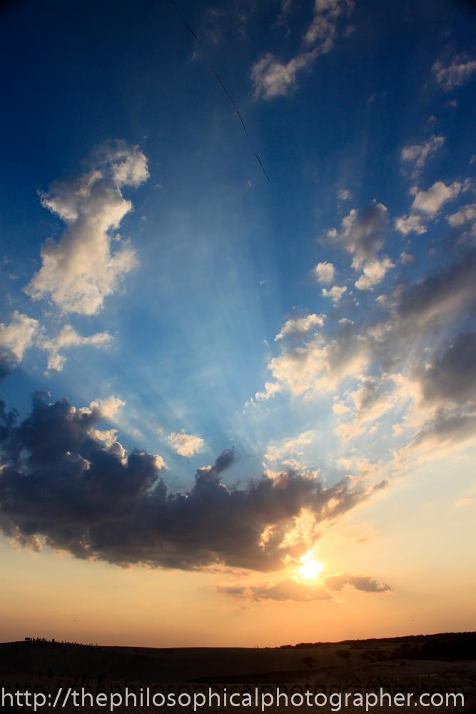Sun rise or the sun set?