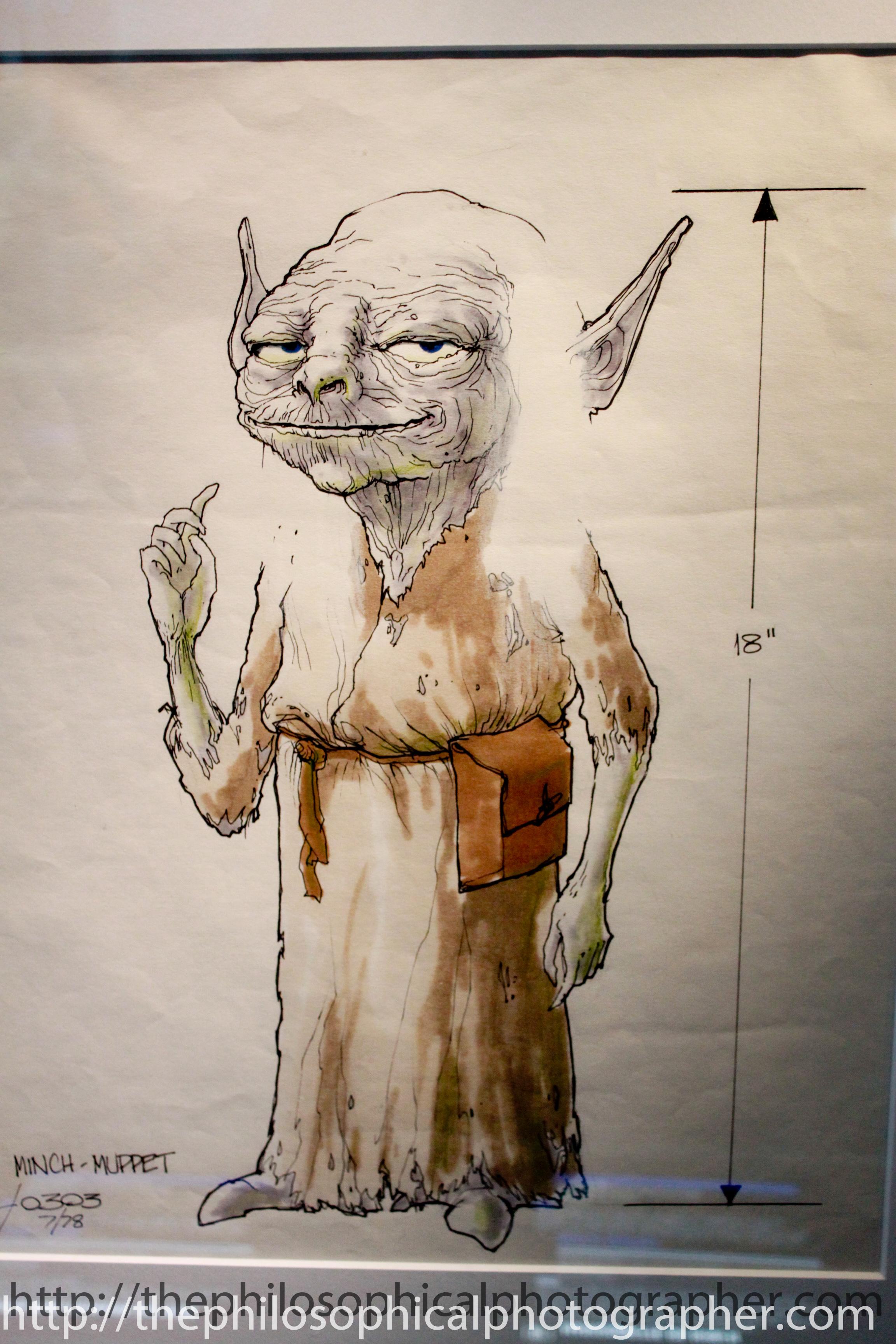 Yoda (Minch) Puppet