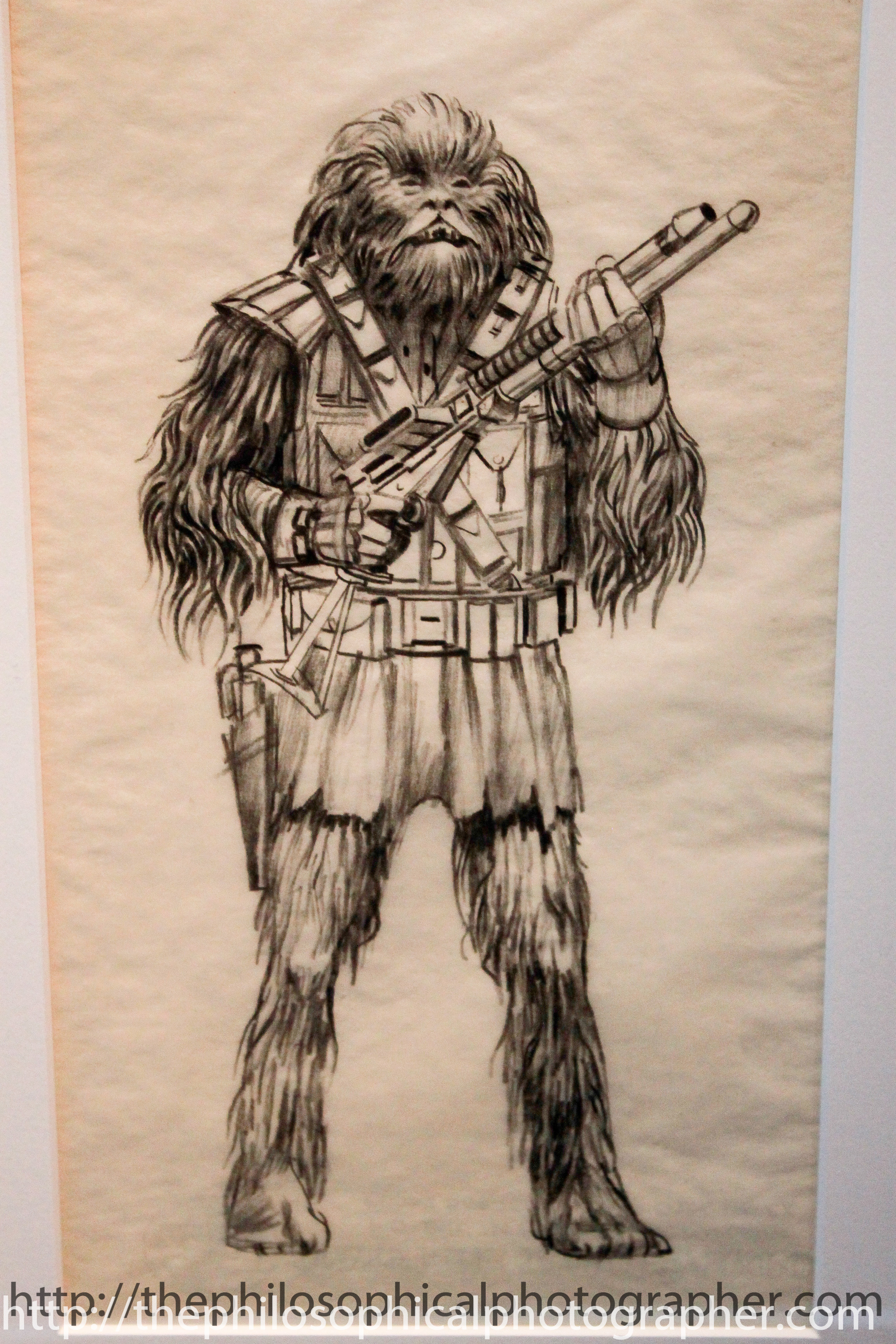 Chewbacca, Early Concept with Tunic