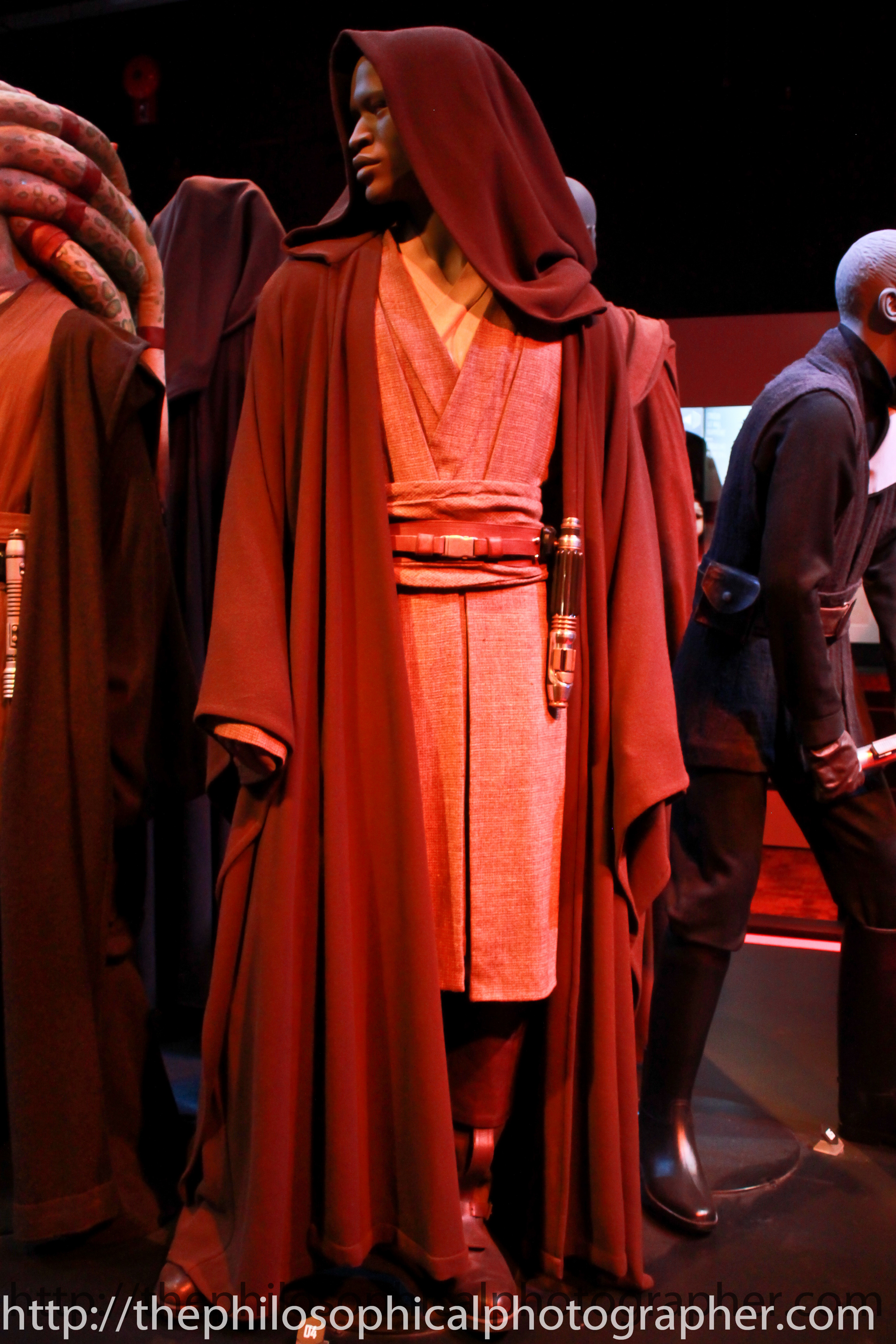 Mace Windu played by Samuel Jackson