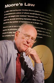 Gordon E. Moore in 2005