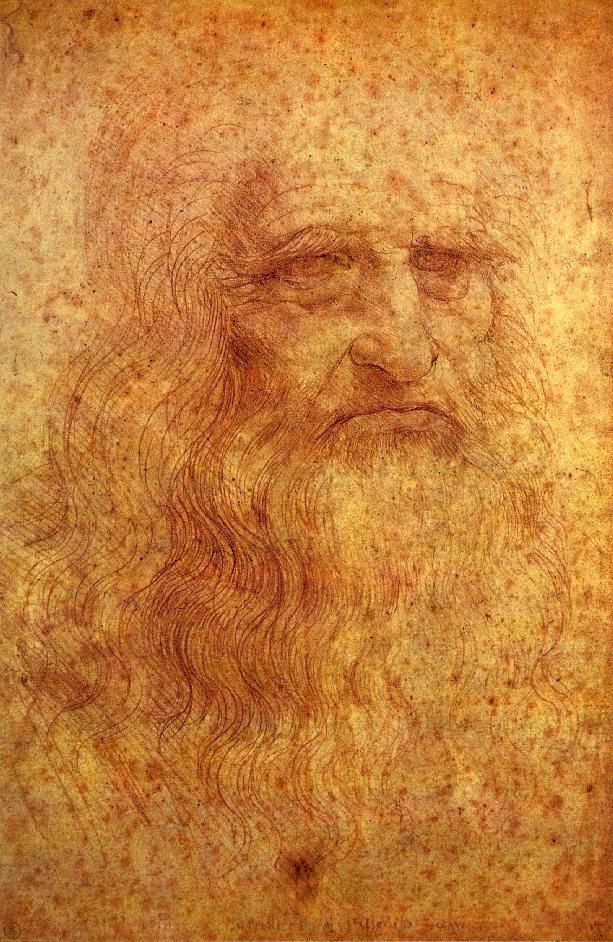 Leonardo Da Vinci self portrait c.a. 1512