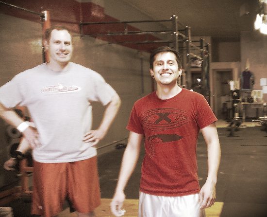 This is the look on your face after your first muscle up. Congrats, Thomas!