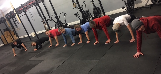 Gettin those plank minutes in!
