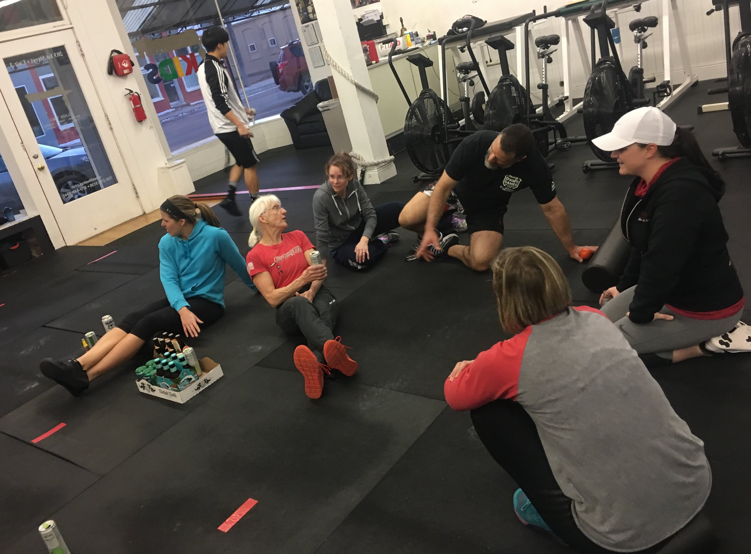 Best part of CrossFit Eaton: The community!  Final games wod coming up and don't forget about our post 19.6 team wod and party on March 29th! Get in those points for your team this weekend…last chance!