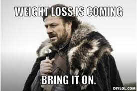 How's the first week of the weight loss challenge going?