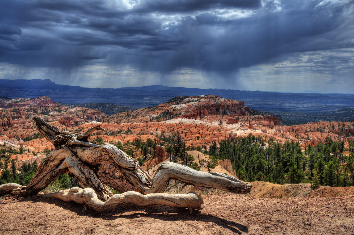 Stormscape Over Bryce