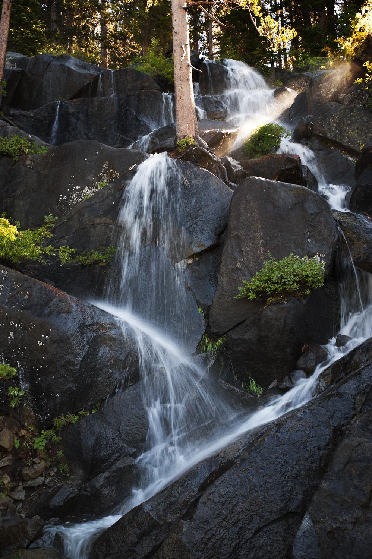 Waterfall on Tioga Road