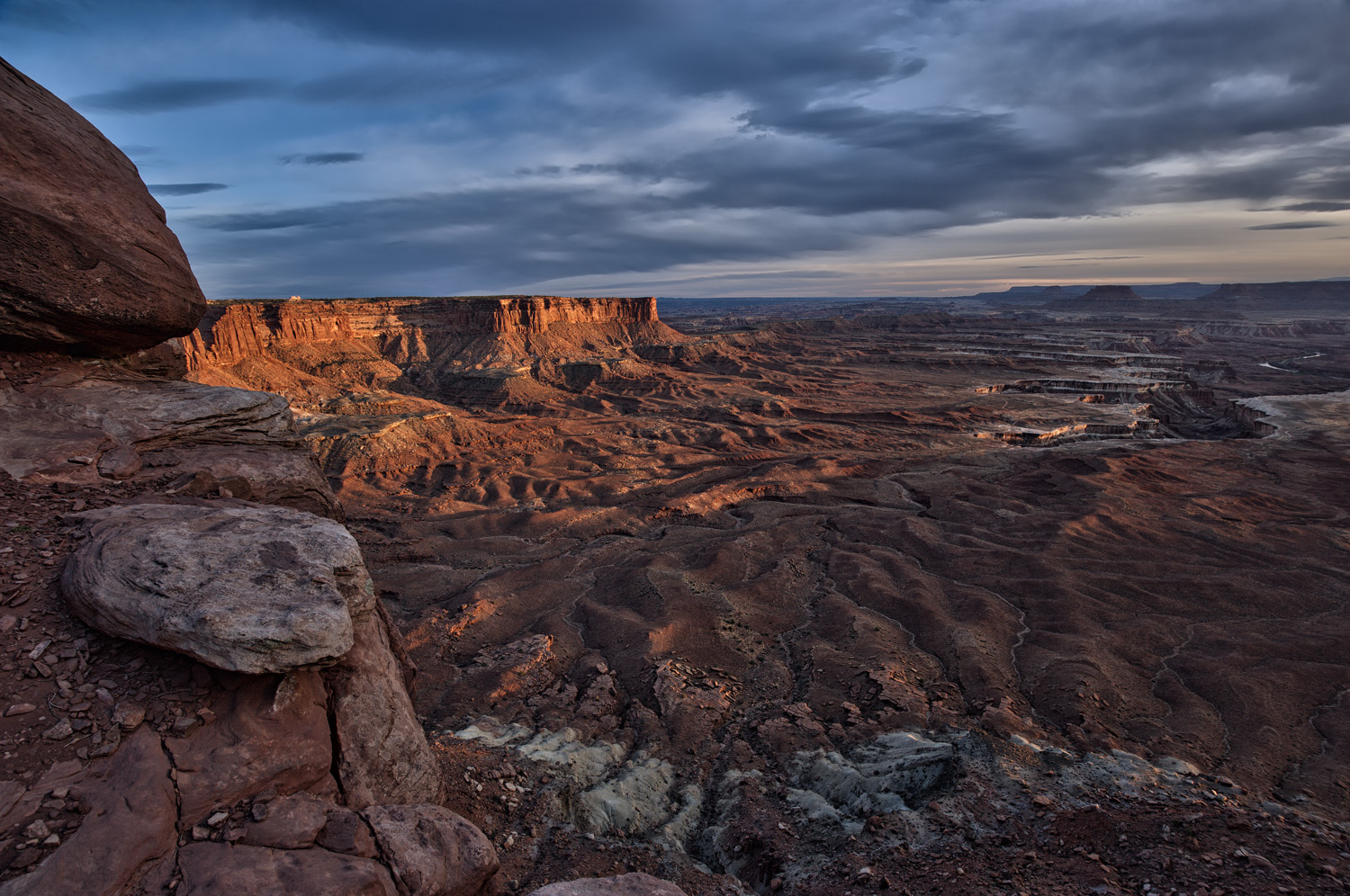 Sunset Across the Green River Plateau