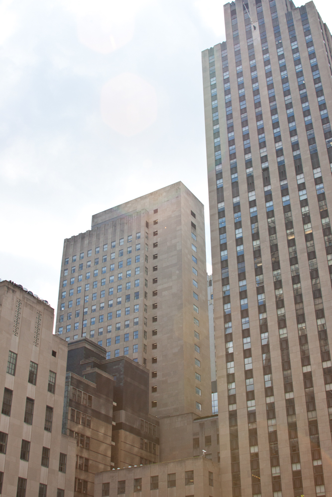New York City, skyline, architecture