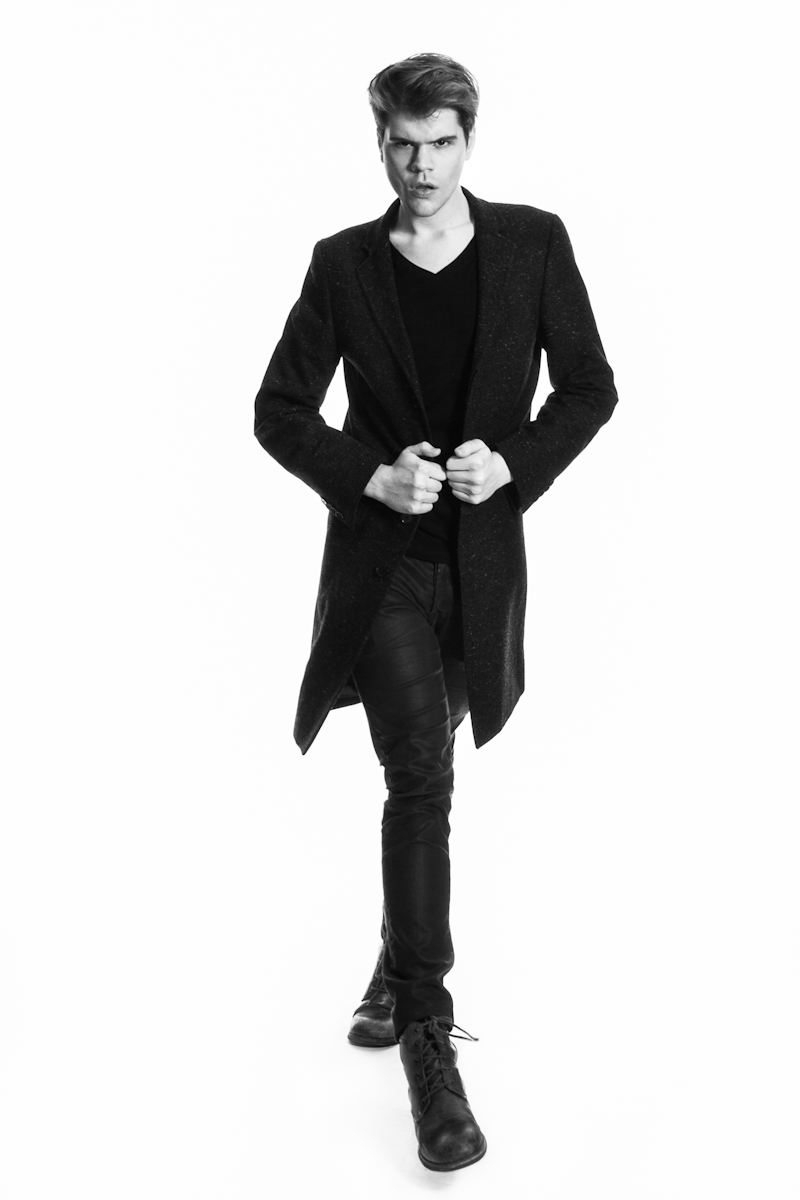 Atlanta. Men's Fashion. Male Model. Black and White. Photography. SCAD