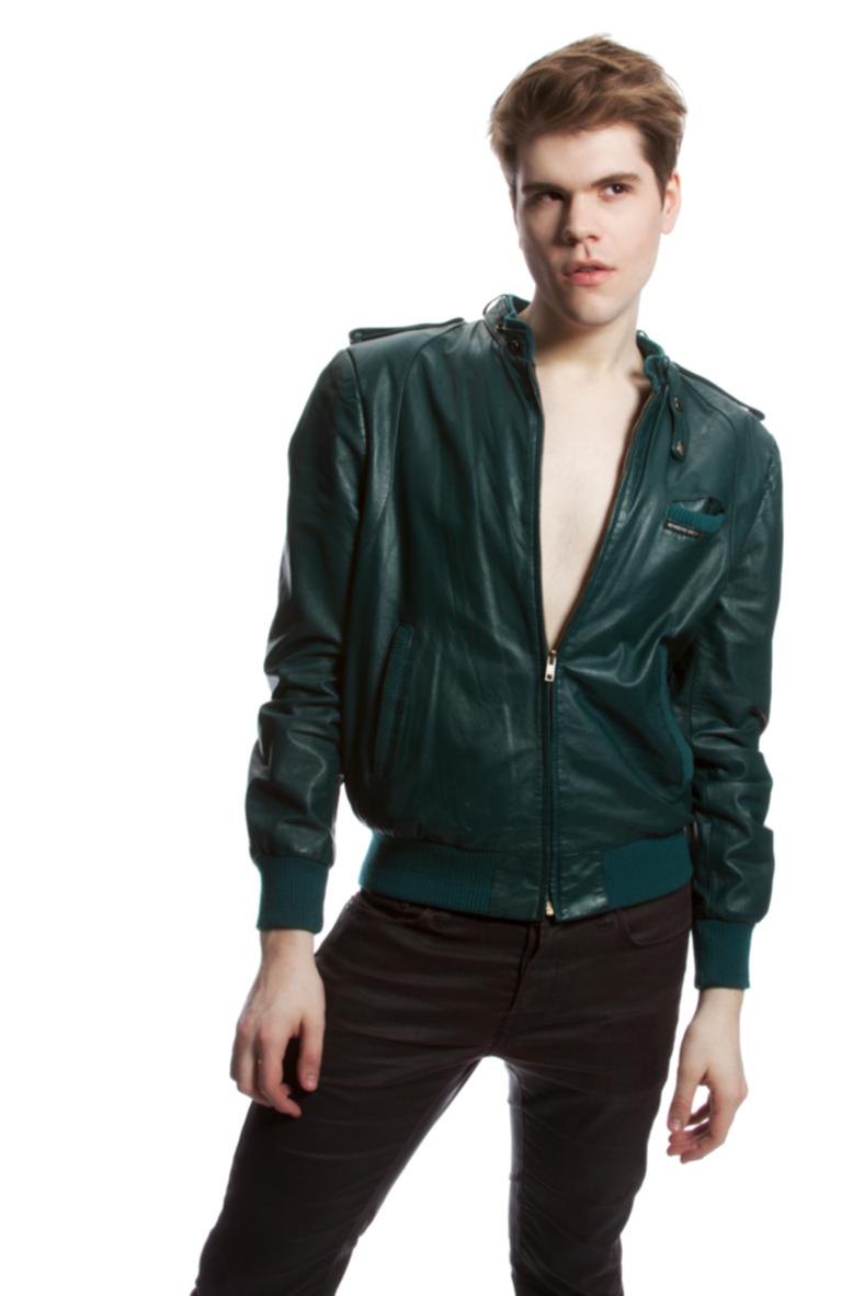 Atlanta. Men's Fashion. Male Model. Stephen Archer. Member's Only Jacket. SCAD.