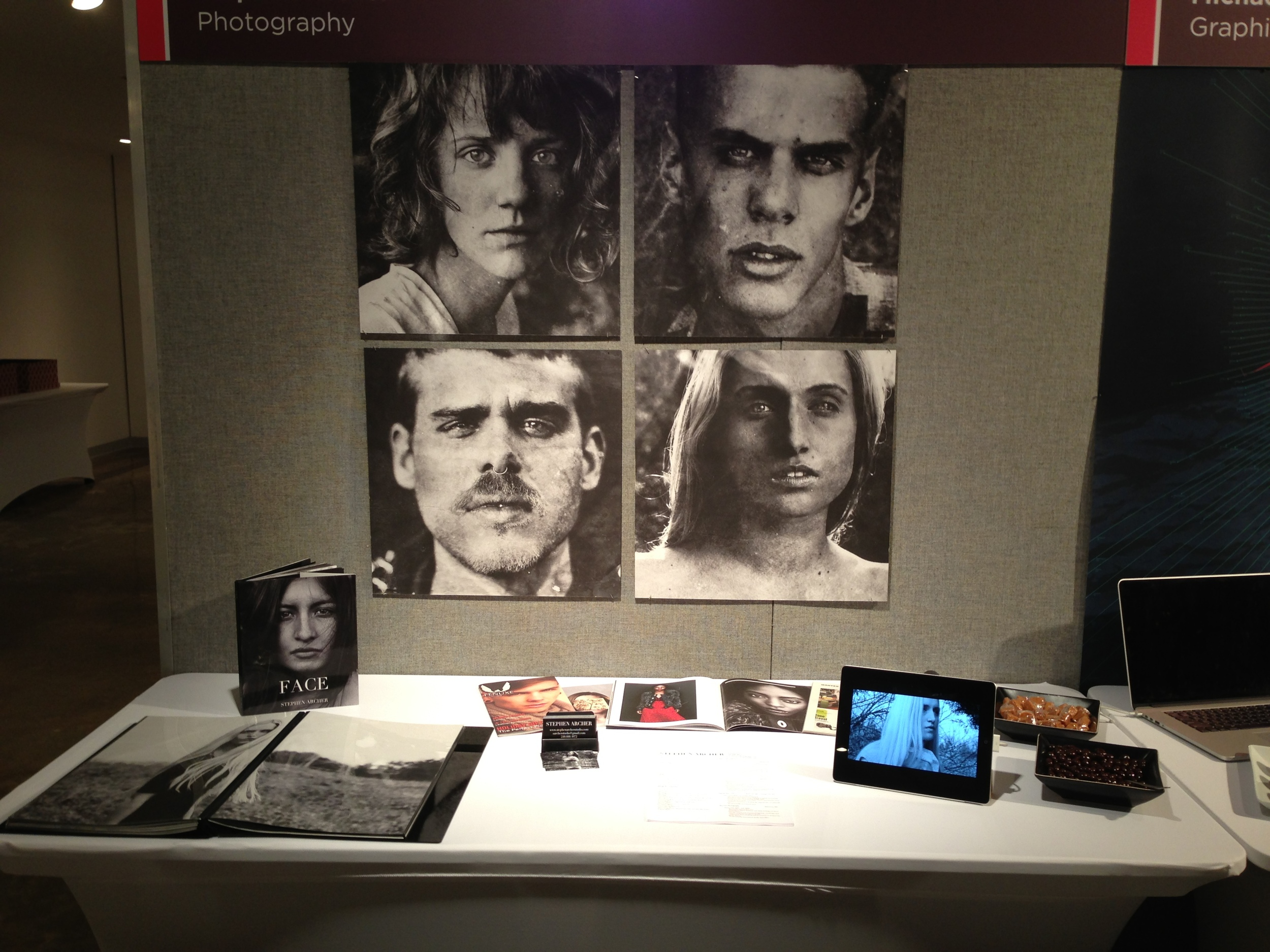 Stephen's booth
