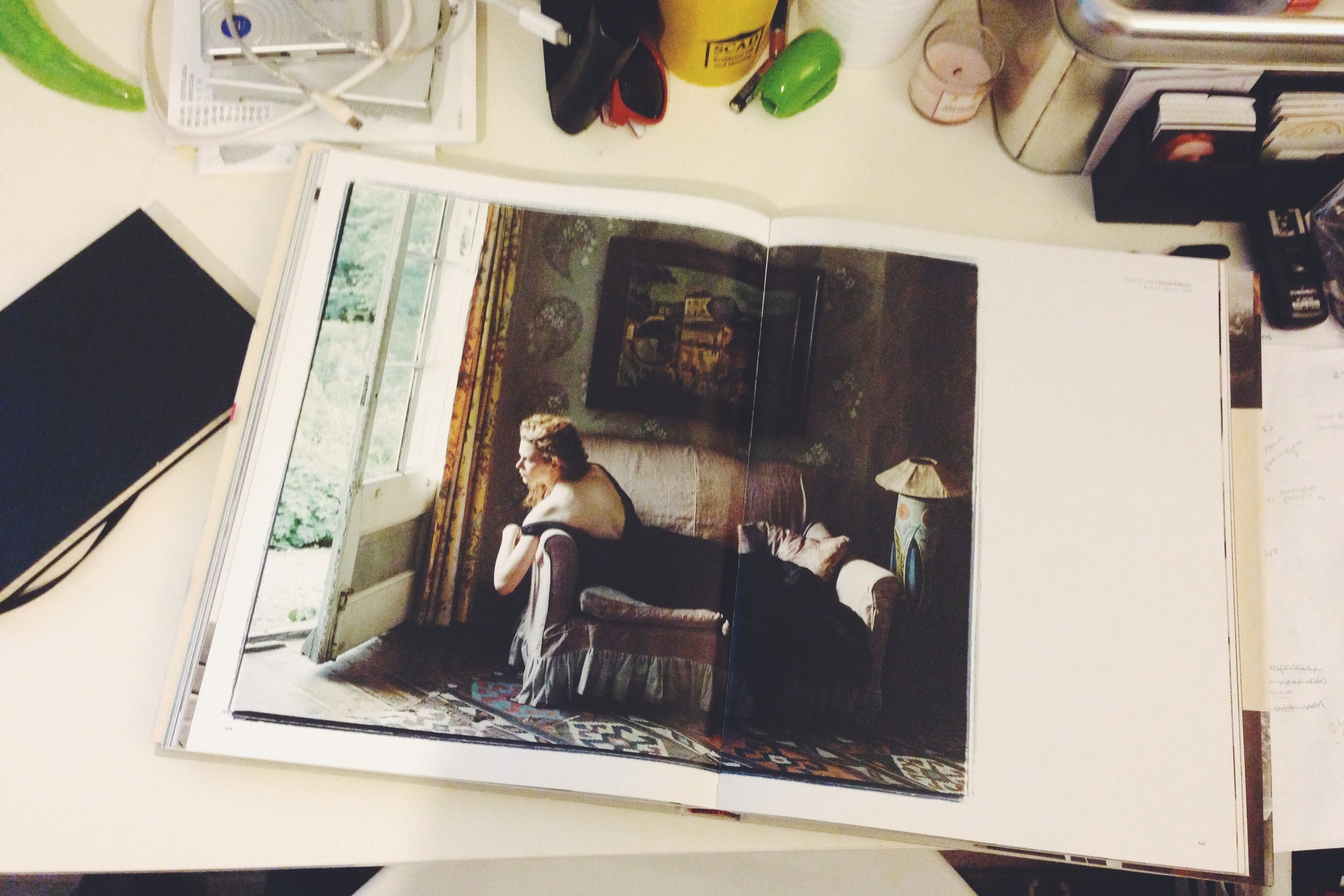 One of my favorite shots in the book, Nicole Kidman by Annie Leibovitz