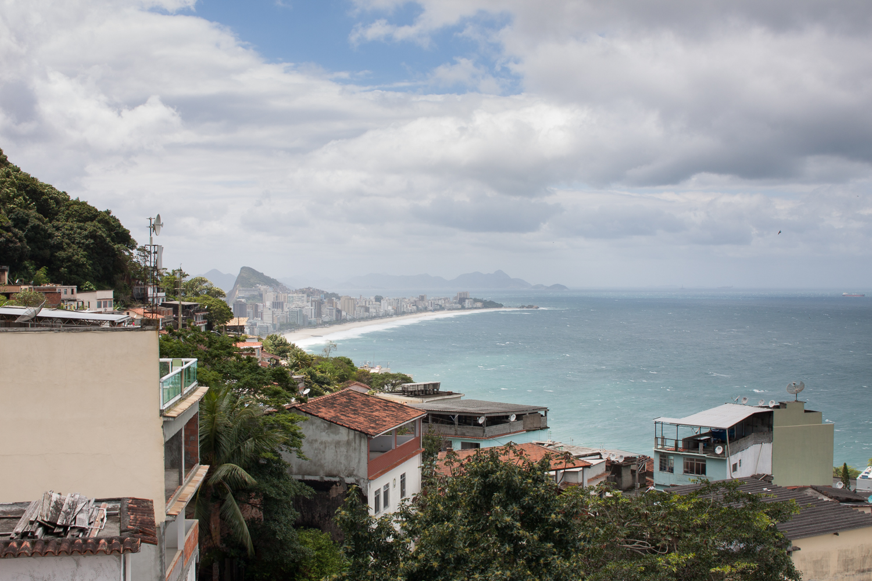 Rio de Janeiro, Vidigal, Ipanema, favela, landscape, travel photography, Brazil, ocean, sky, Brasil