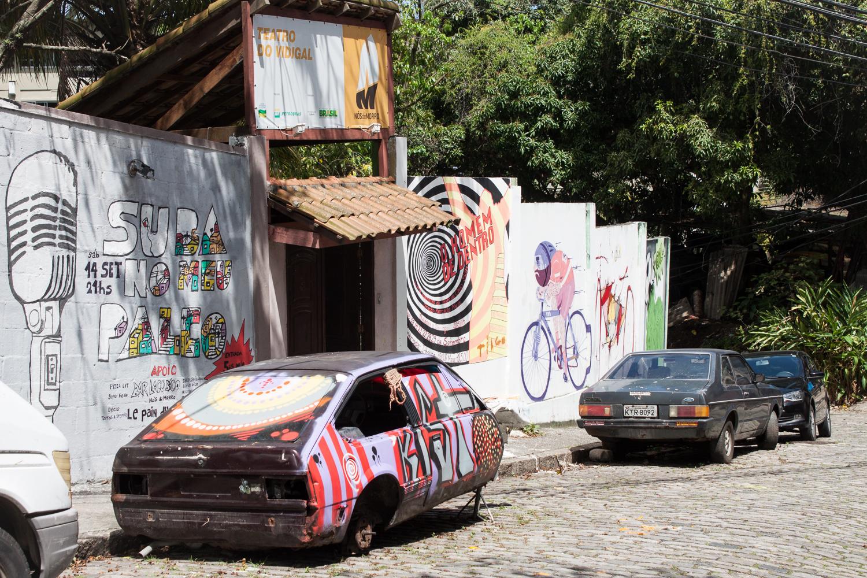 Rio de Janeiro, Vidigal, favela, landscape, travel photography, Brazil, Brasil, street art, graffiti