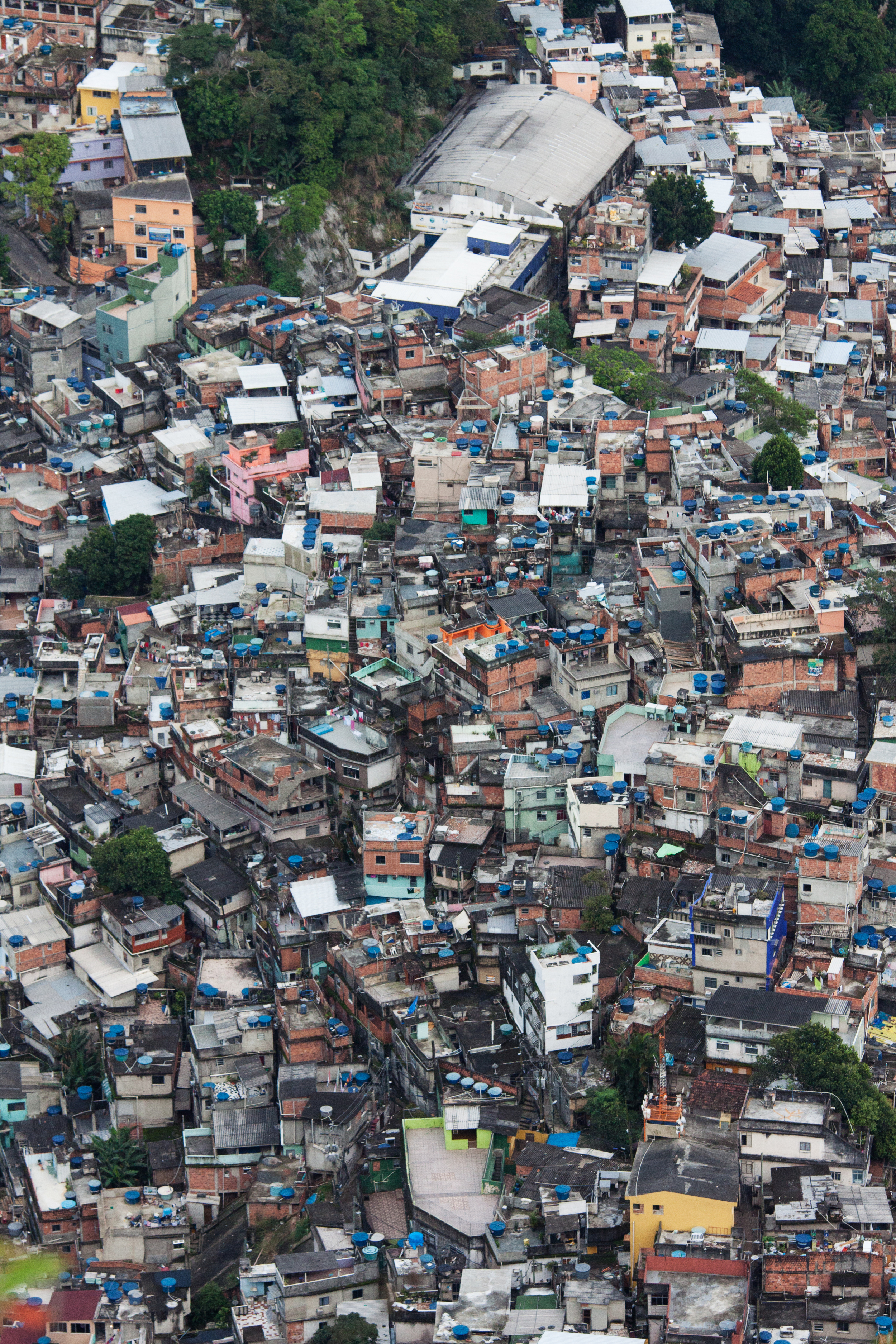 Rio de Janeiro, Brazil, landscape, travel photography, panorama, Two Brothers, Dos Irmaos, sunrise, favela