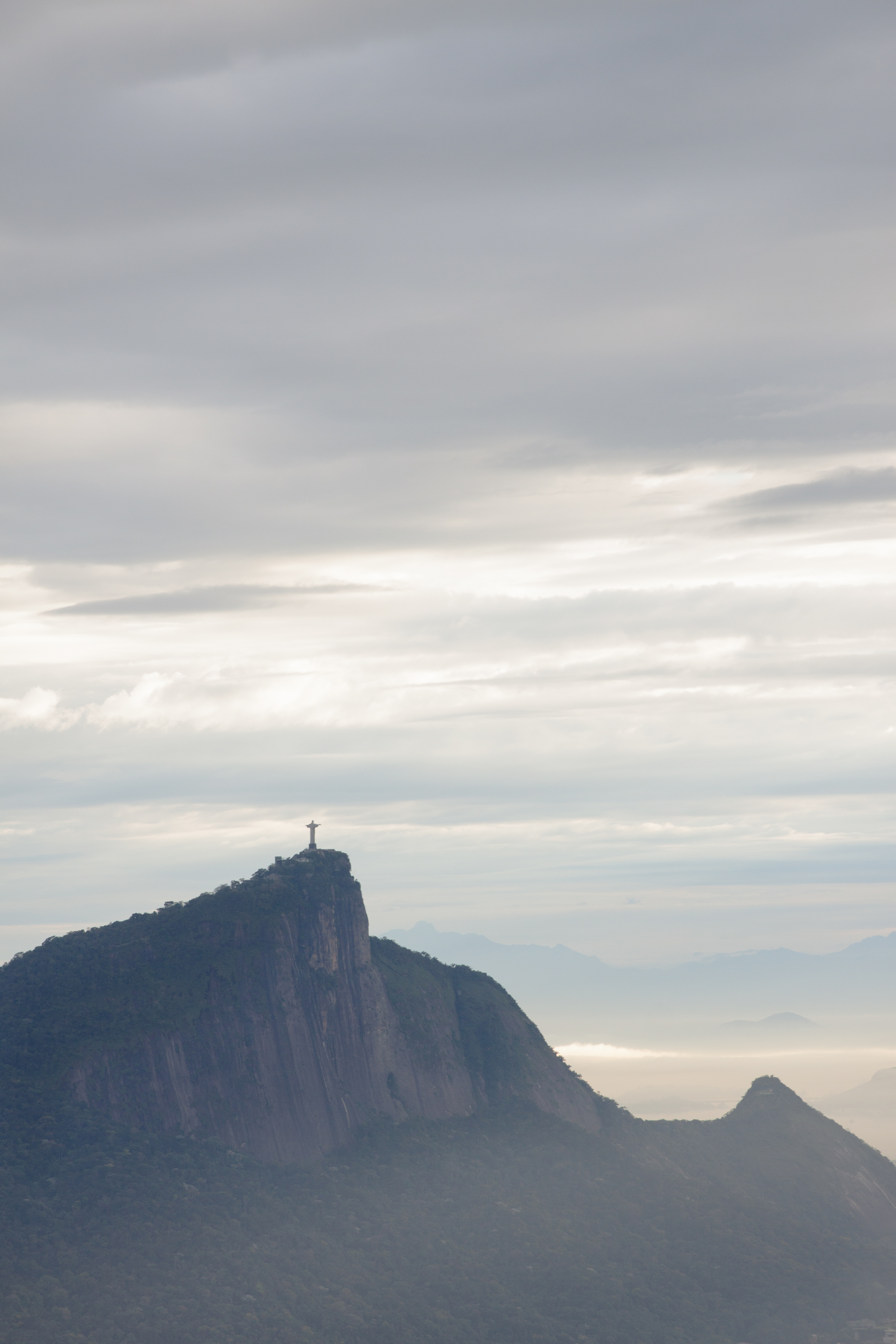 Rio de Janeiro, Brazil, landscape, travel photography, Two Brothers, Dos Irmaos, sunrise, Christ the Redeemer