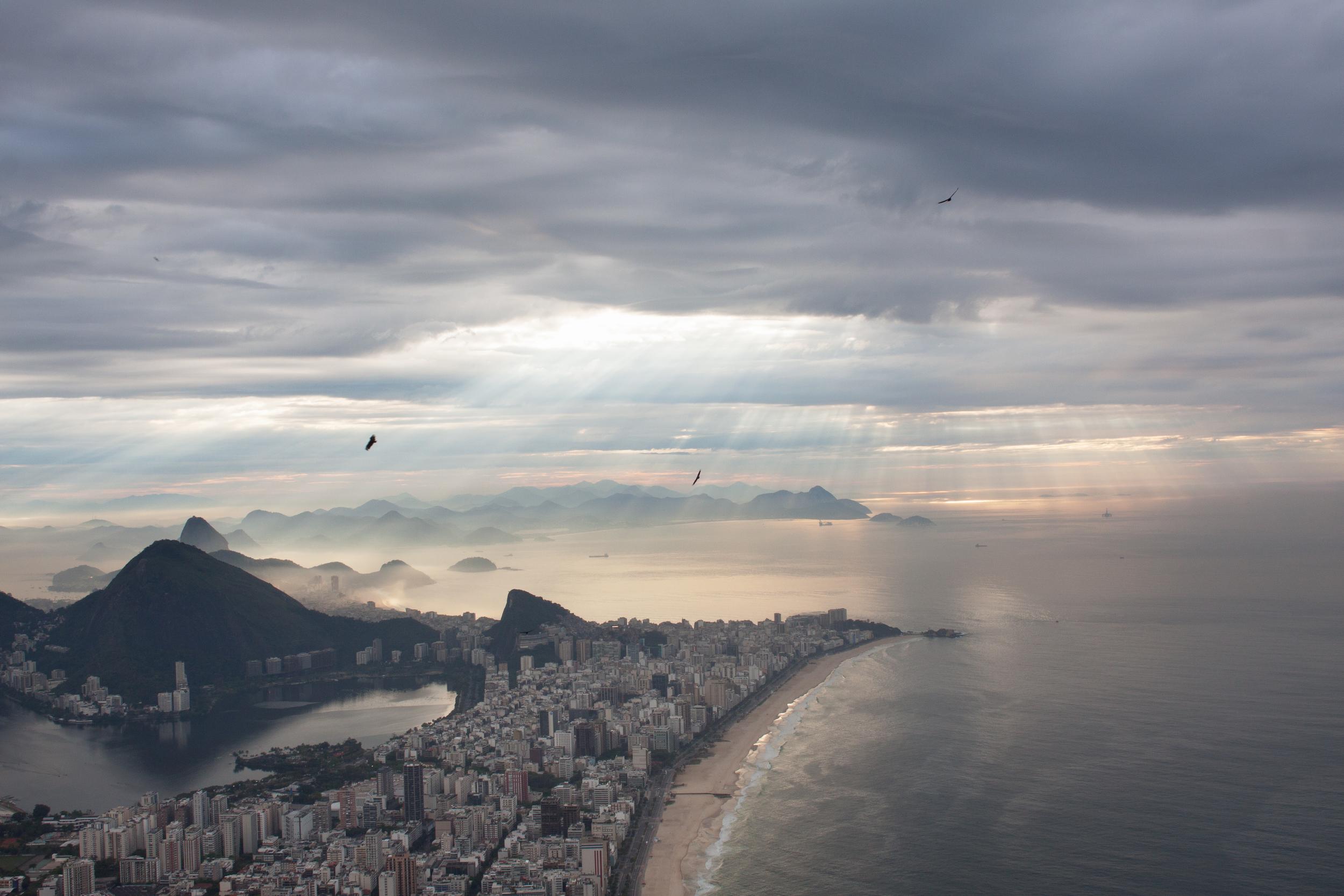 Rio de Janeiro, Brazil, landscape, travel photography, Two Brothers, Dos Irmaos, sunrise