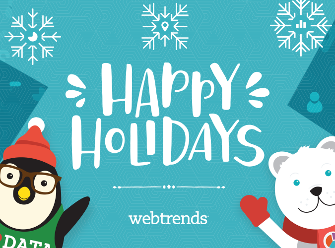 Happy Holidays from Webtrends