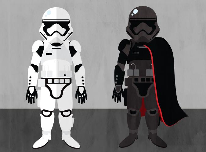 Storm Trooper & Phasma