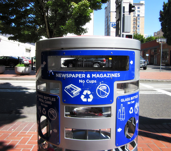 Public Recycling Containers