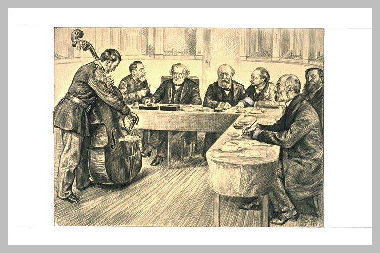 Concours de contrebasse au Conservatoire