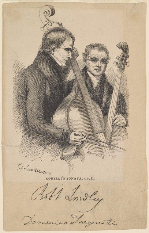 Robert Lindley and Domenico Dragonetti