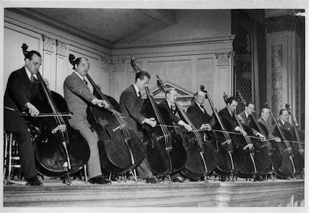 New York Philharmonic Section.