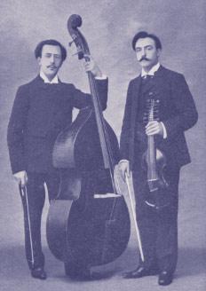 Edouard Nanny and Henri Casadesus