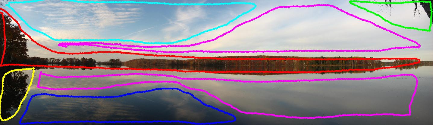 Figure 1: Choosing the regions of an image.