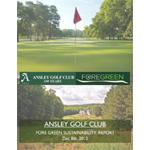 Ansley Golf Club, Atlanta, GA    2012   Sustainability Report & Plan