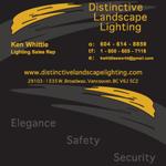 Distinctive Landscape Lighting    2012   Business Card Design, Print Material and Letterhead