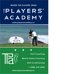The Players Academy at Seymour Creek    2012   Business cards, Print Material, Website design and copy