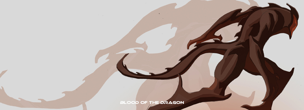 Blood of the Dragon BY GREY WILLIAMSON