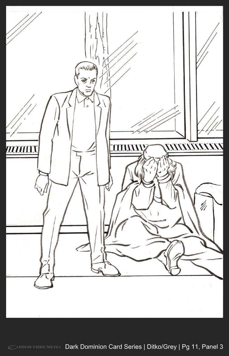 Dark Dominion Card | Ditko/Grey | Page 11 Panel 3