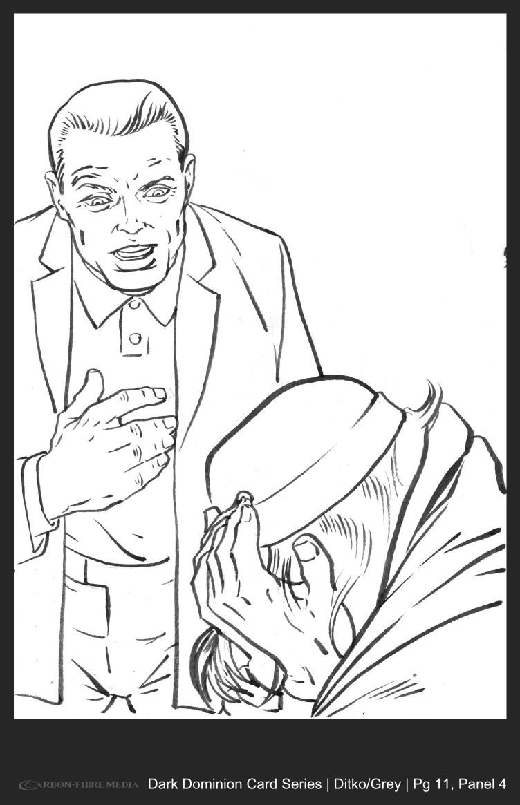 Dark Dominion Card | Ditko/Grey | Page 11 Panel 4