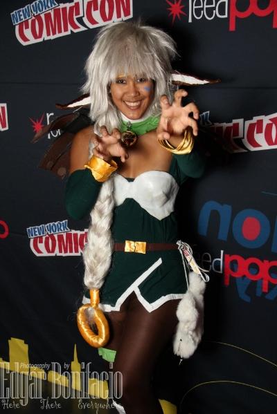 kimdolion at new york comic con (nycc)