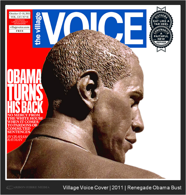 cover of village voice: 2011