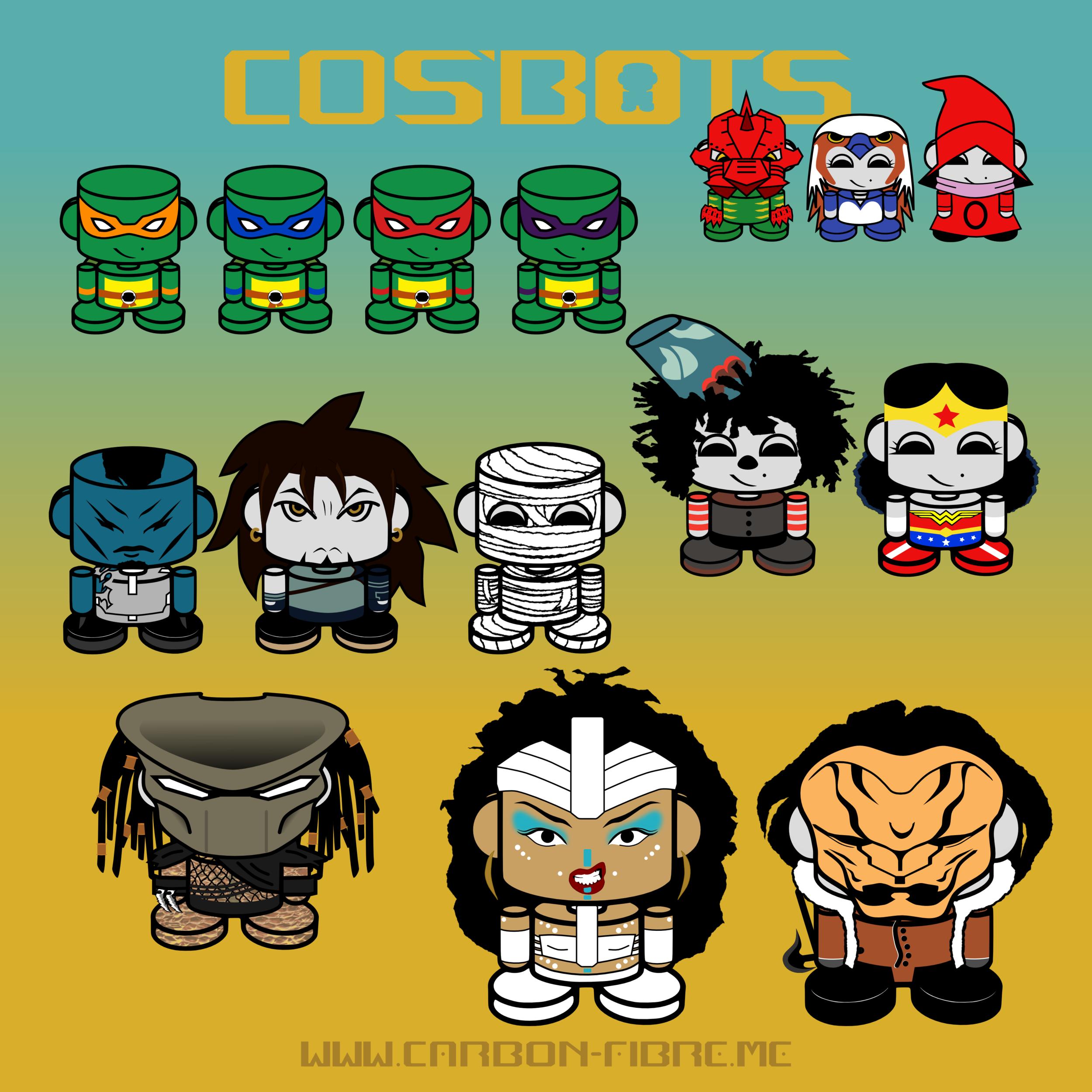 carbonfibreme_cosbots_cosplay_robots_obots_onjenayo_group_square.png