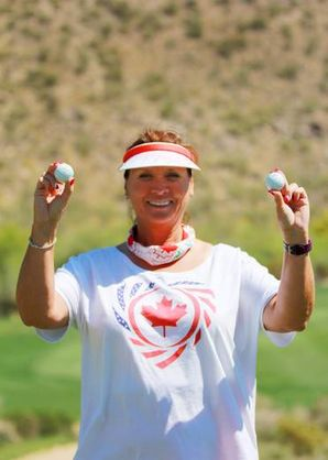 CALGARY'S BARBARA PARKER CELEBRATES PAIR OF HOLES-IN-ONE on march 24, 2017