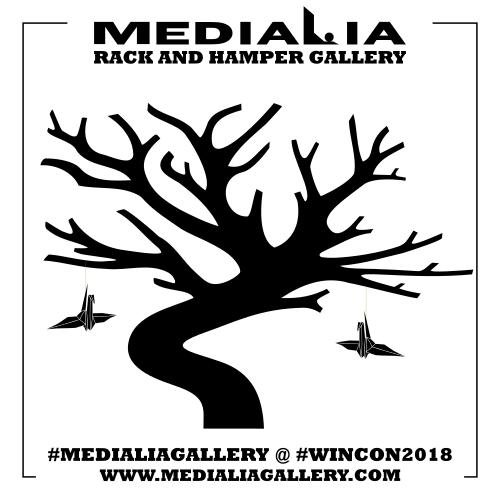 sipsteapartycomic_wincon2018_photo_journey_senbazuru_medialia_origami_crane_tree_black.png