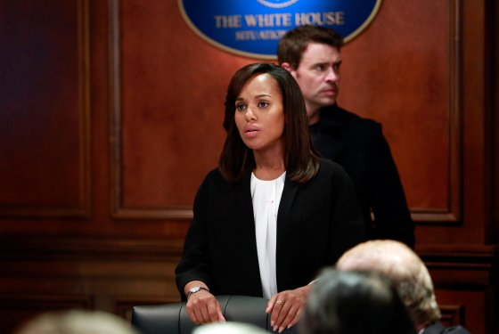 "Scandal    Full series coverage at Vulture    ""Figuring out how she's going to trick Harrison with her vagina week after week like a Bond villain is the only fun part of the show right now, and I love her.""   Season 3 Episode 15 , "" Happy, Together Family ""                                                                                                                  • • •    ""Having seen Rowan in action, it's understandable that Liv became a savior, or looked to make a family out of equally broken or damaged people. She saves people who have been cast out in some way, much like herself, and the unexpected side effect of their eternal gratitude is probably as close as she's ever come to unconditional love. She's too smart a character to paint with such a generic brush (she saves because she needs saving), but it's also the thing that humanizes her the most, the tiny crack where love gets in and humanity pours out.""   Season 3 Episode 2,  "" Making Jam in Vermont ""                                                                                                                 • • •    ""At the urging of Leo Bergen, Sally Langston, Decisive Bitch, Esq., decided to use the churchsplosion as her own Pearl Harbor and started wrapping wounds faster than the throat-filling bile of a Huck and Quinn sex scene. This Florence Nightingale act basically cinched the presidency for Sally — she was crawling over rubble to rip bandages with her teeth while Fitz stood behind a podium like an anthropomorphized penis wearing an American flag pin. Who would you vote for in this election, Rambo or Bob the Builder? According to the split-screen coverage that nearly gave Olivia an aneurysm as Sally overtook Fitz,   you would vote for Rambo  .""   Season 3 Episode 18,  "" Bad Guys Run the World """