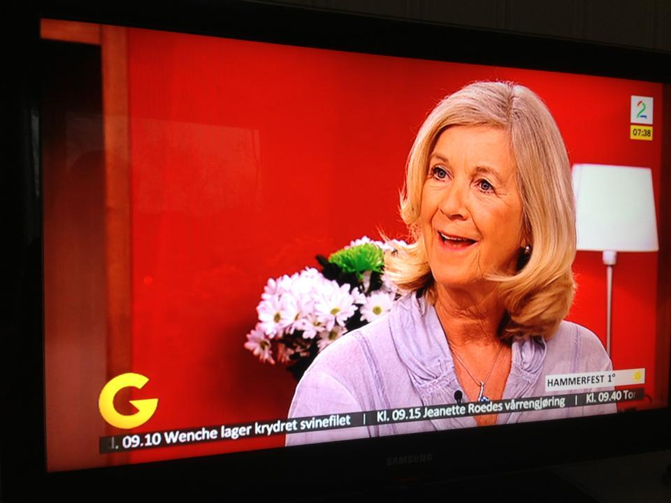Mette på God Morgen Norge om studievalg. 12.04.03