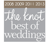 Our relationship with The Knot and our amazing couples who rely on it, have voted us Best Videographer for years!